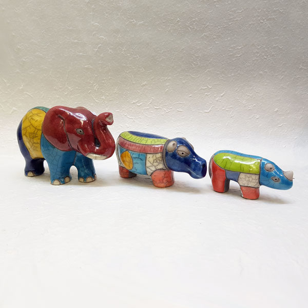 Hand Painted Ceramic animals